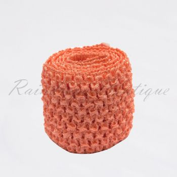 Peach band by the metre 2.75 inches
